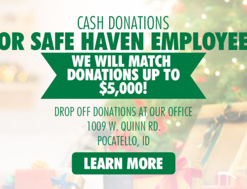 Cash Donations For Safe Haven Employees